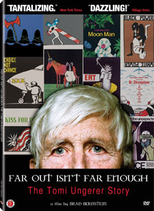 FAR OUT ISN'T FAR ENOUGH: The Tomi Ungerer Story and IN A TOWN THIS SIZE on DVD October 22